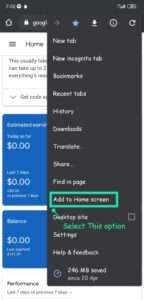 Adsense app removed