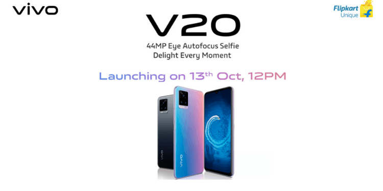 Vivo V20 India Price Revealed