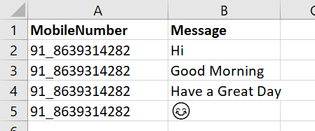 how to send bulk messages on whatsapp using python code