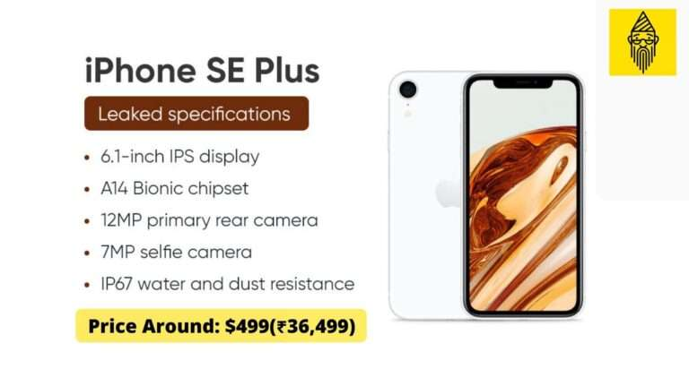 iPhone SE Plus specifications